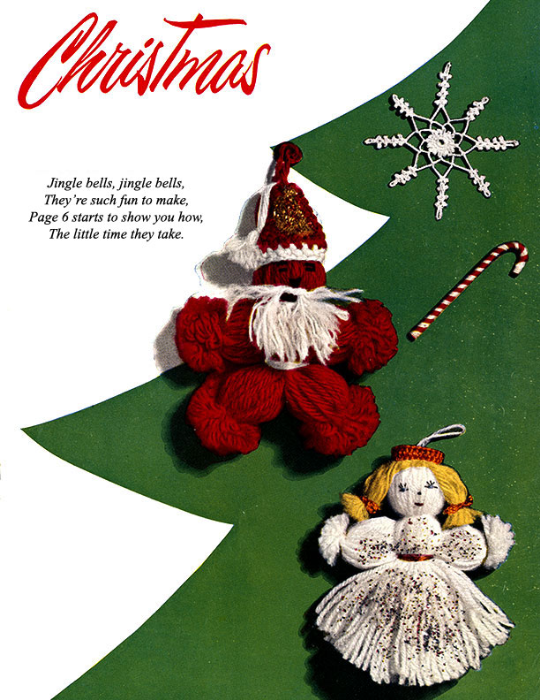 Third Additional product image for - Crochet for Christmas   Star Book 83   American Thread Company DIGITALLY RESTORED PDF