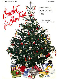 crochet for christmas | star book 83 | american thread company digitally restored pdf