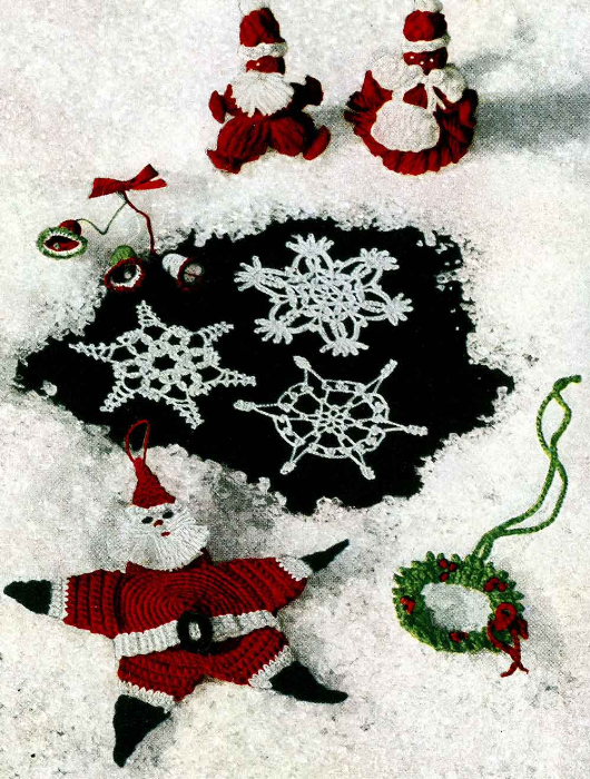Third Additional product image for - Crochet for Christmas | Star Book 94 | American Thread Company DIGITALLY RESTORED PDF
