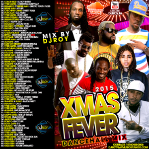 dj roy xmas fever dancehall mix 2015
