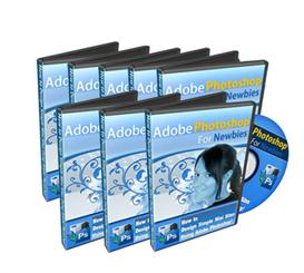 adobe photoshop for newbies videos- master resale rights