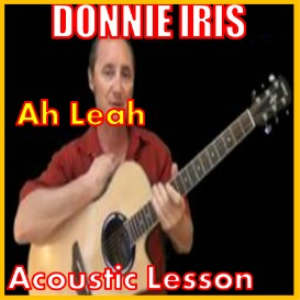 Learn to play Ah Leah by Donnie Iris | Movies and Videos | Educational