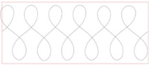 figure eight quilting template pdf