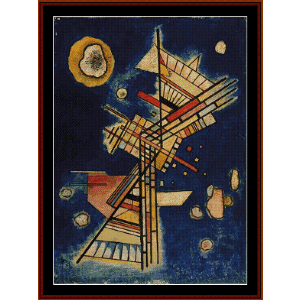Dark Freshness, 1927 - Kandinsky cross stitch pattern by Cross Stitch Collectibles | Crafting | Cross-Stitch | Wall Hangings