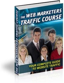the web marketers traffic course -master resale rights included