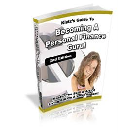 the klutzs guide to becoming a personal finance guru