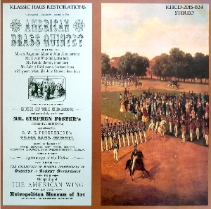 american brass music of the mid-1800s - american brass quintet