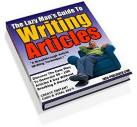 the lazy mans guide to writing articles  (mrr)
