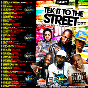 dj roy tek it to the street mix vol.18 2015