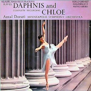 ravel: daphis et chloë - complete ballet - mso/antal dorati