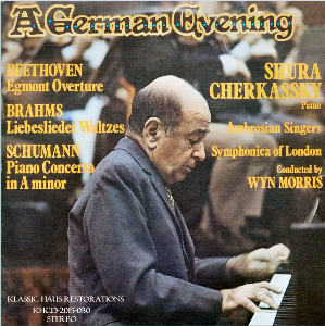 a german evening - shura cherkassky/wyn morris