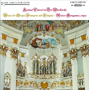 festival concert in der weiskirche - music for organ, trumpets and timpani - anton guggemos