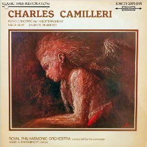 charles camilleri: malta suite/andante religioso/piano concerto no. 1 - rpo/camilleri/angela brownridge