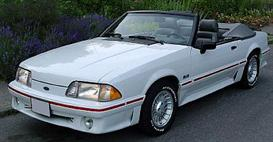 1988 ford mustang mvma specifications