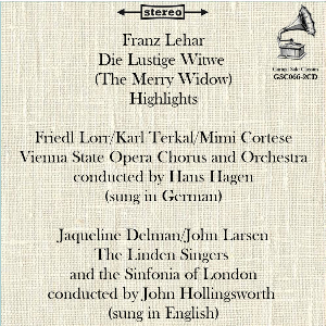 Franz Lehár: Die Lustige Witwe (The Merry Widow) – Highlights in German & English | Music | Classical