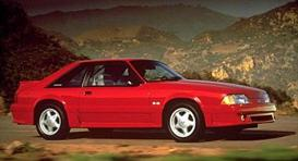 1991 ford mustang mvma specifications
