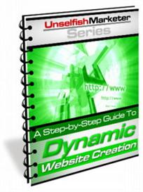 dynamic website creation - how to create dynamic websites