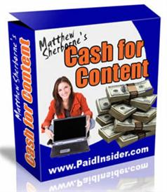 cash for content system (mrr included)