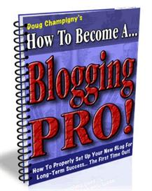 how to become a blogging pro! mrr included.