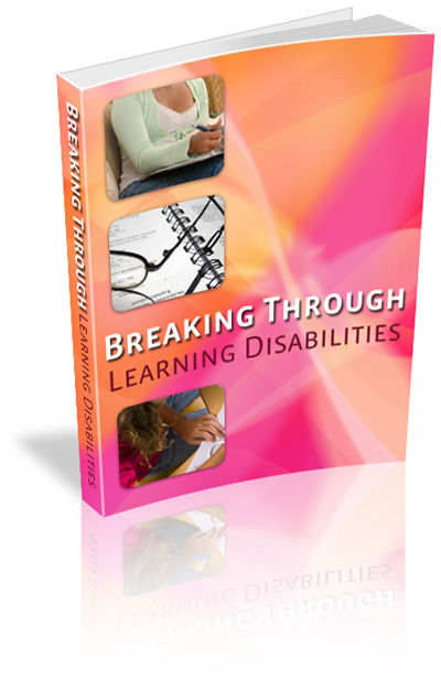Tips For Recognizing Learning Disorders >> Breaking Through Learning Disabilities With Master Resale Rights