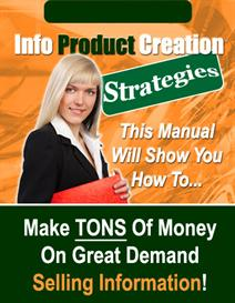 info product creation strategies - make money on demand selling inform