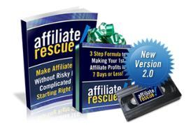 affiliate rescue with master resale rights