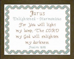 name blessings -  jarus
