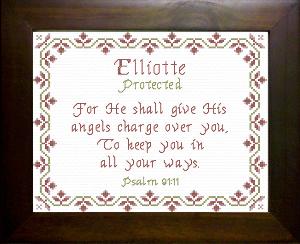 name blessings -  elliotte