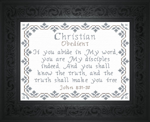 Name Blessings -  Christian | Crafting | Cross-Stitch | Religious