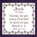 Name Blessings -  Amanda 2 | Crafting | Cross-Stitch | Religious