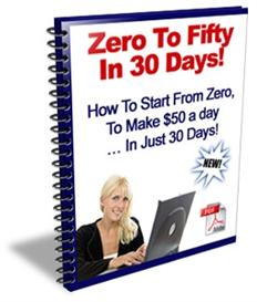 zero to fifty in 30 days with master resale rights
