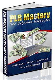 PLR Mastery For Internet Marketers ! MRR | eBooks | Internet