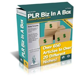 the mega private label article pack ! plr biz in a box!650 private lab
