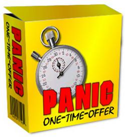 panic one-time-offer (mrr)