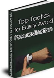 Top Tactics To Easily Aviod Procrastination (MRR) | eBooks | Education