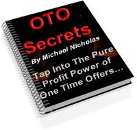 oto secrets ebook  with master resale rights