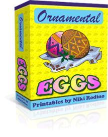 ornamental eggs -with master resale rights