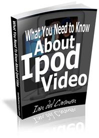 what you need to know about ipod video -with master resale rights