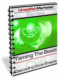 taming the beast cascading style sheets -with master resale rights