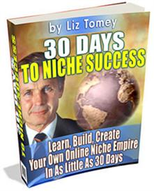 30 days to niche success  -with master resale rights