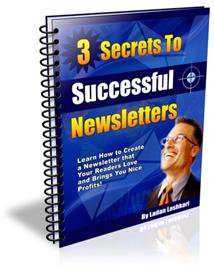secrets to successful newsletters with master resale rights