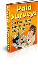 Paid Surveys ! Get Paid Taking Surveys In Your Spare Time (MRR) | eBooks | Business and Money