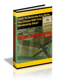 the niche dominator with master resale rights