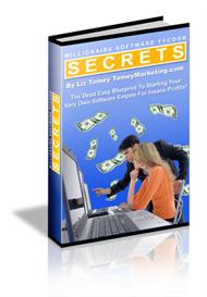 Millionaire Software Tycoon Secrets With Master Resale Rights | eBooks | Internet