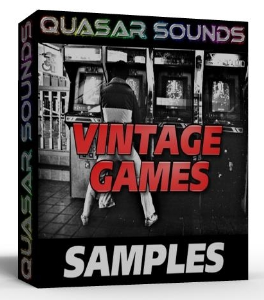 vintage game samples  wave