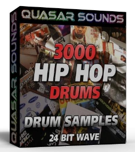 3000 hip hop drums 24 bit wave
