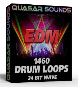 edm drum loops 24 bit wave