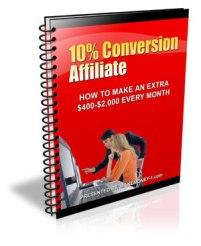 10 conversion affiliate with master resale rights