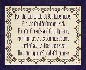 Grateful Praise   Crafting   Cross-Stitch   Other