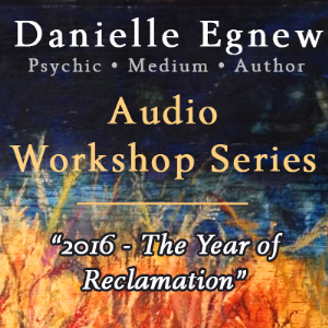 danielle egnew - 2016: the year of reclamation